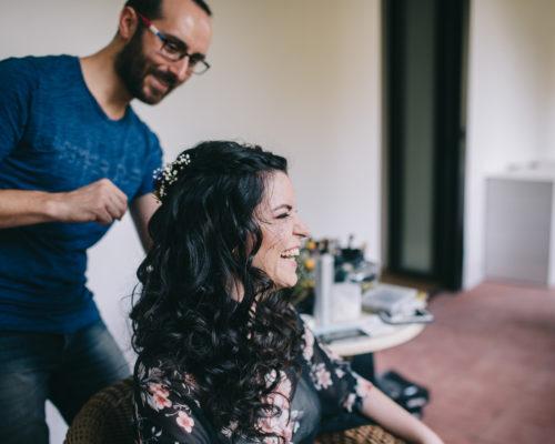 Maquillador y peluquero de novias en zaragoza
