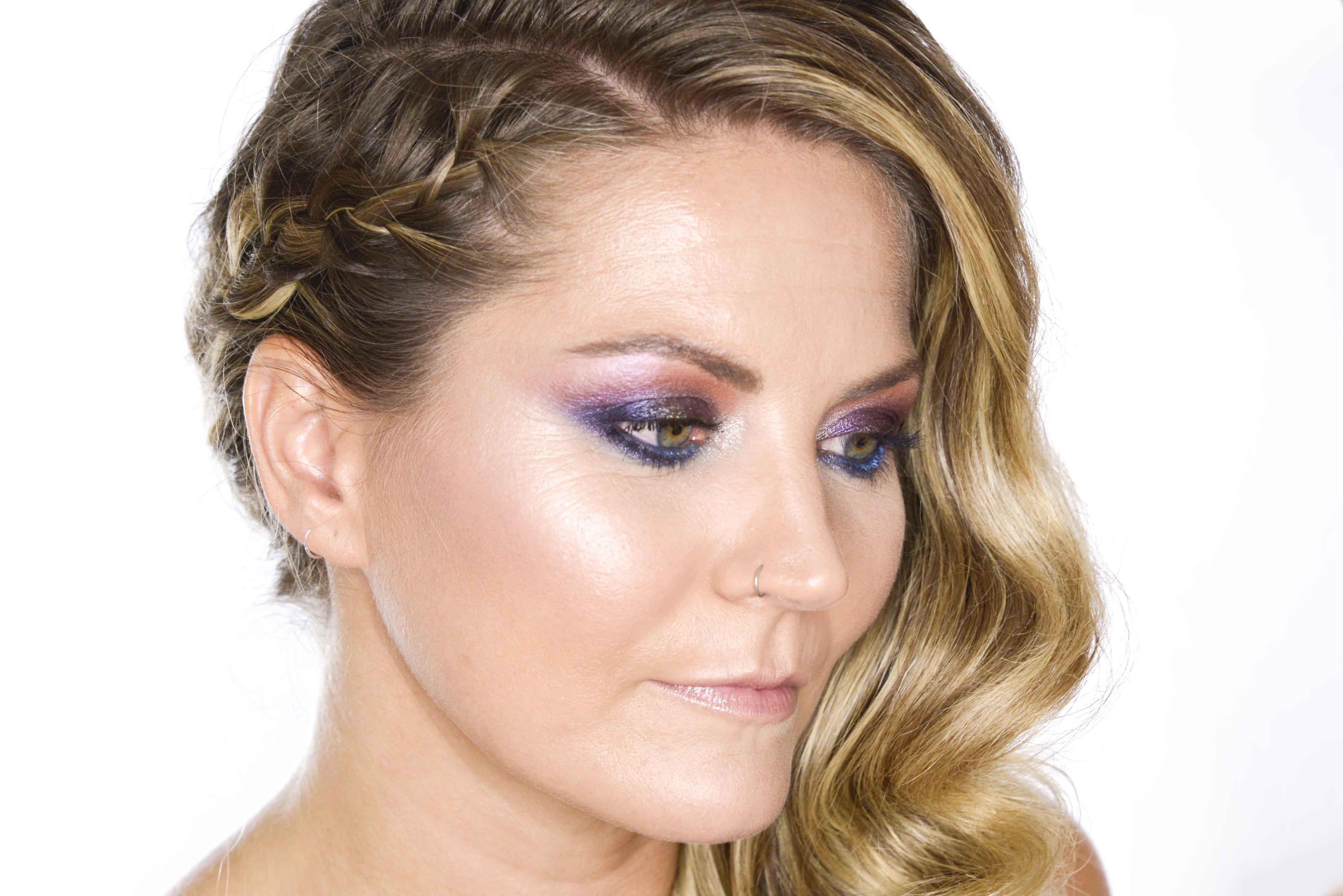Maquillaje y peluquería de fiesta con Ladanena