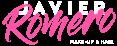 c Javier Romero logotipo - Sobre fondo oscuro recorte